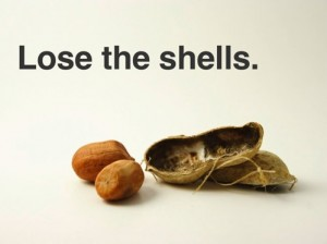 peanut shells for inbox zero